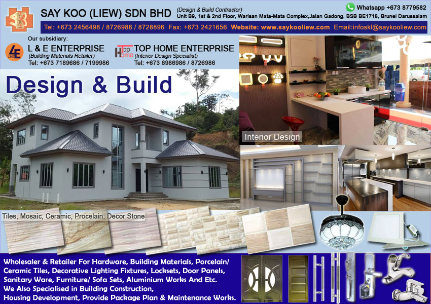 Brunei Property and Construction Portal | One Stop Property