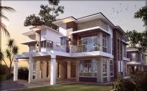 Proposed Modern Design Double Storey Detached Semi Link House