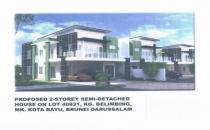 COMPLETED 4 UNITS SEMI DETACHED AT KG SUBOK - 300K NEGO