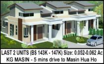 Bengkurong masin bungalow 143k