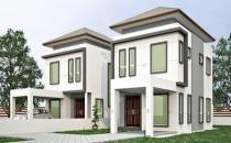 Proposed Double Storey Link House at Junjungan
