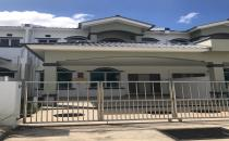 Double Storey Terrace House at Jerudong