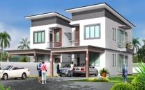 Proposed Double Storey Semi-Detached House at Tanah Jambu