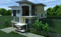 Proposed Double Storey Detached Split Level House at Kilanas