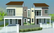 Proposed Double Storey Semi-Detched House at Jerudong