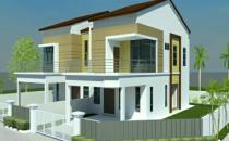 Proposed Double Storey Semi-Detched House at Serusop