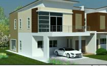 Proposed Double Storey Semi-Detched House at Kilanas
