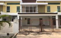 Double Storey Terrace House at Rimba