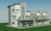 Proposed Double Storey Terrace House at Bebatik Mulaut