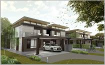 Proposed Double Storey Semi-Detached House at Jerudong