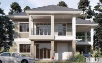 Proposed Double Storey Detached House at Lambak