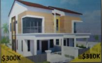 Serusop semi detached house 300k
