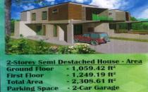 Jerudong semi detached 309k