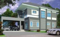 Proposed Double Storey Detached House at Tanah Jambu