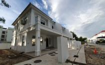 Double Storey Terrace House at Menglait
