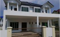 Double Storey Semi-Detached House At Kg Tanah Jambu