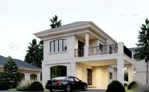 Double Storey Detached House at Wasan