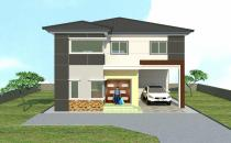 Double Storey Detached House at Limau Manis