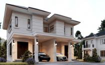 Double Storey Semi-Detached House at Lambak