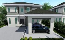 Double Storey Detached House at Tanjung Bunut