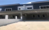 Double Storey Semi-Detached House at Madang