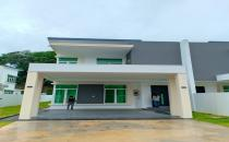 Double Storey Semi-Detached House at Jerudong