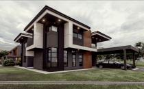 Double Storey Detached House at Subok