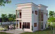 Double Storey Detached House at Mulaut