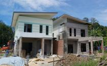 Double Storey Semi-Detached House at Limau Manis