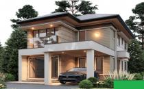 Proposed Double Storey Detached House at Tg Bunut