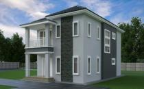 Double Storey Detached House at Bengkurong