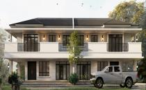 Proposed Double Storey Semi-Detached House at Madang