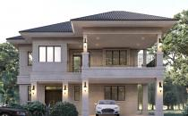 Proposed Double Storey Detached House at Jerudong