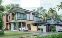 Proposed Double Storey Semi-Detached House at Sengkurong