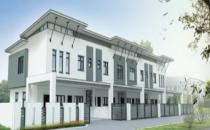 Double Storey Terrace House at Menglait (NTH 227)