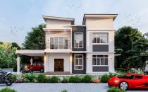 Double Storey Detached House at Sungai Tilong (NDH 734)