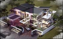 Under Construction Detached Luxury House In Jerudong